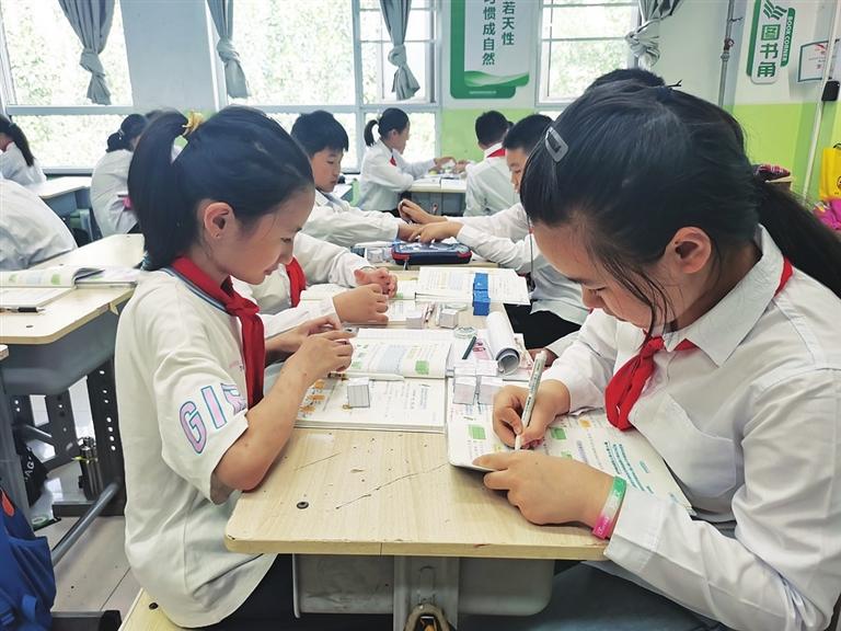 """杏花岭区实验小学:落实""""双减""""政策 向课堂要效率"""