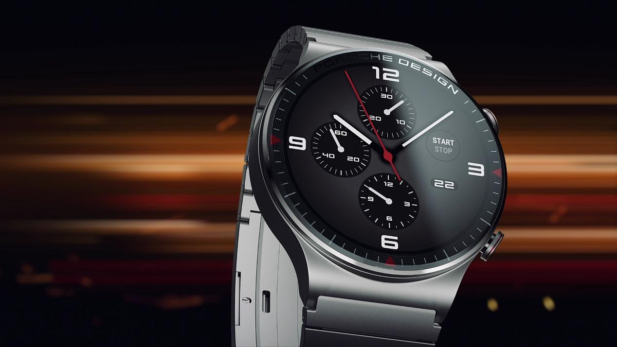 华为Watch GT系列迎首个保时捷设计款:高端设计极致科技