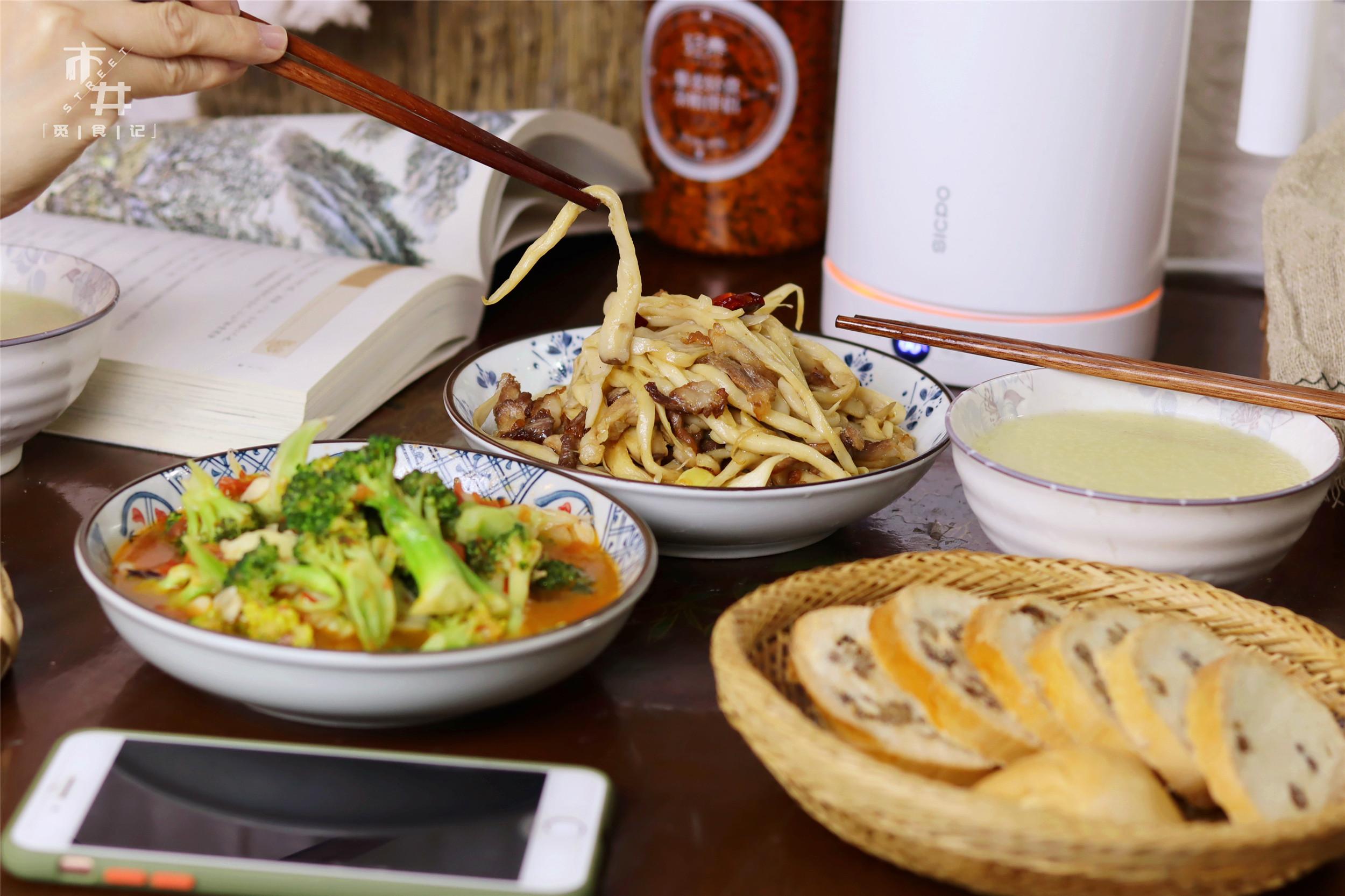 小两口的极简晚餐,2菜1汤,吃得饱饱又不浪费,省事儿 美食做法 第14张