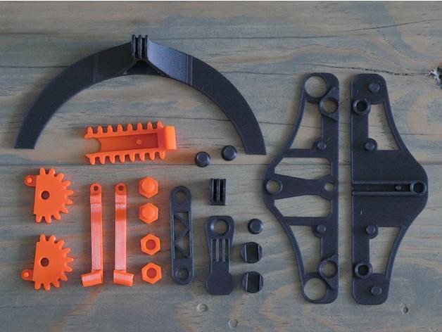 机械式手机支架3D打印图纸 STL格式