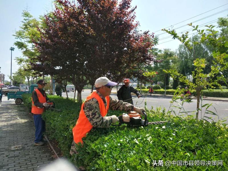 江苏响水县城管局结合党史学习为群众办实事解难题