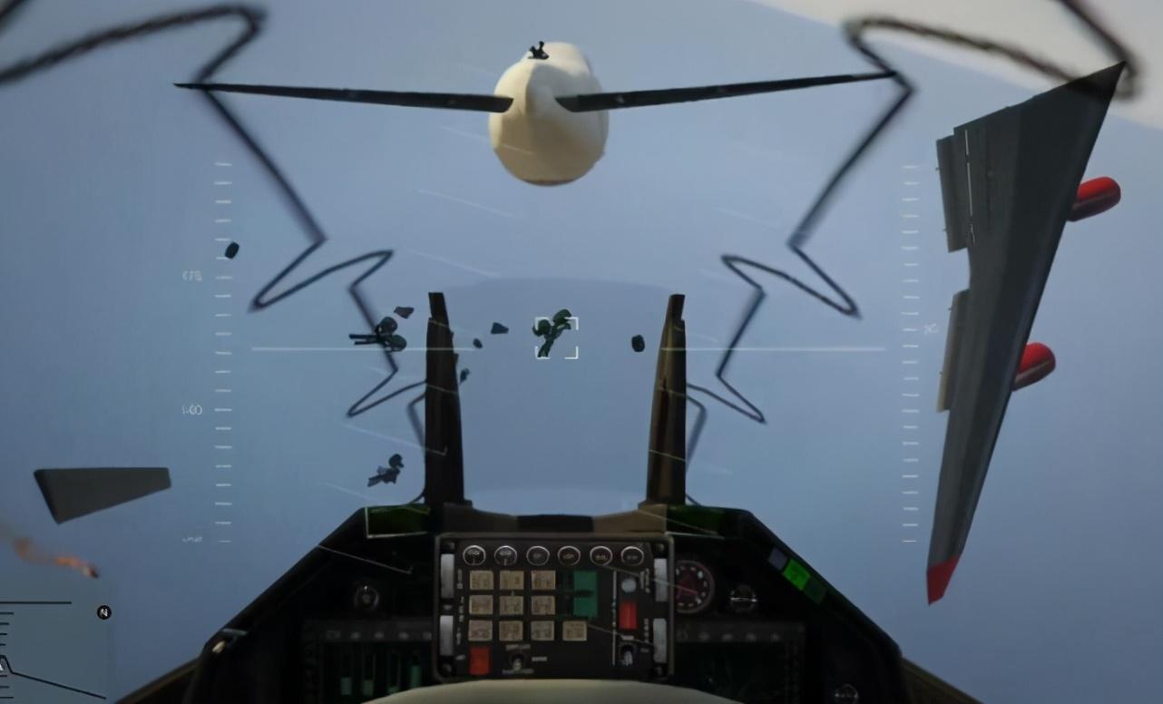 """《GTA5》当你用第一人称视角开""""战斗机""""会怎样?放飞自我"""