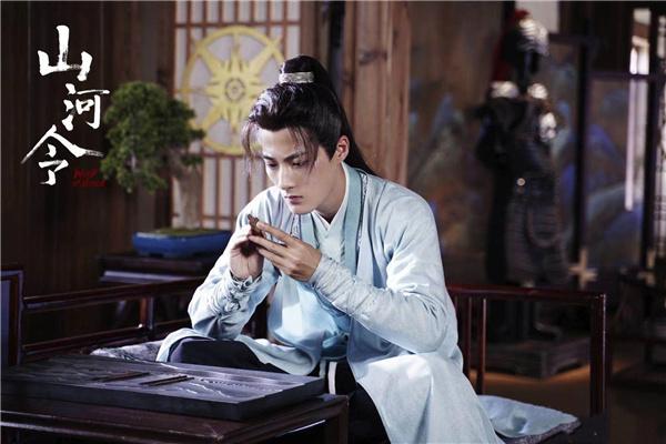 《山河令》配角被误认成张哲瀚替身,本人回应:我是演员郭迦南