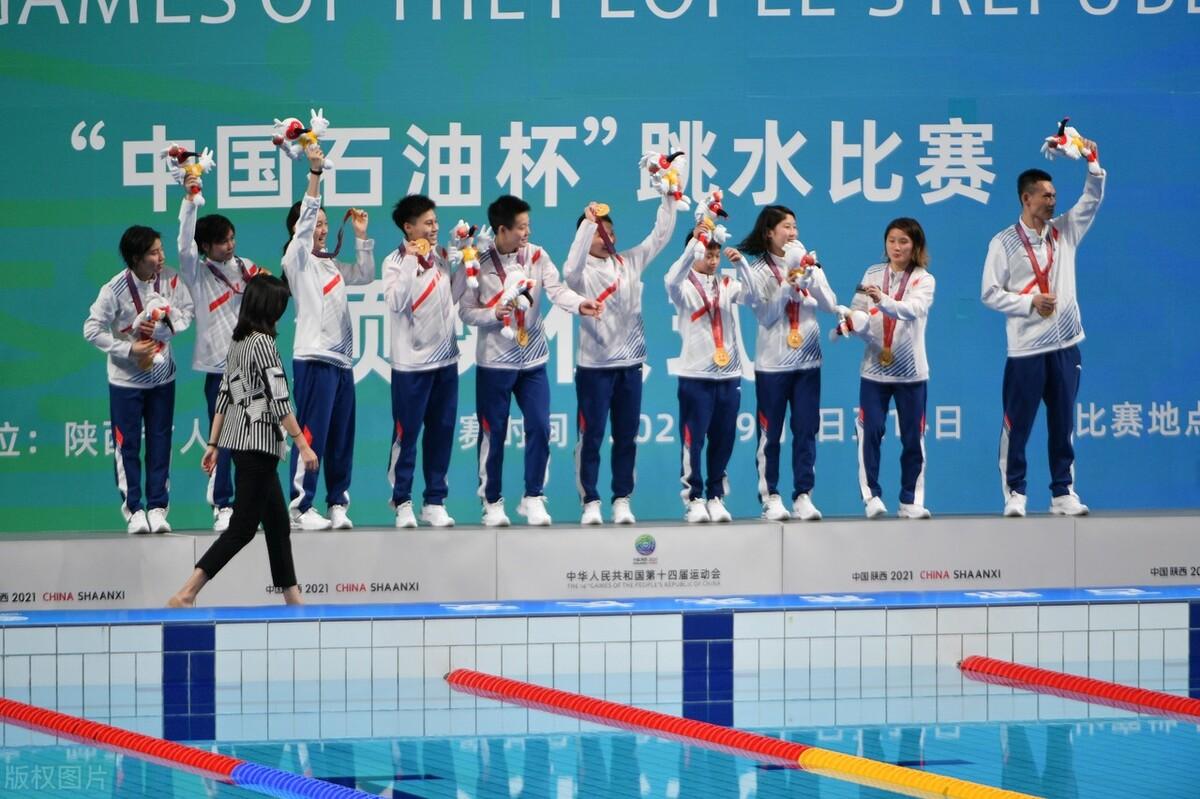 广东队包揽全运会男女团跳水金牌,8个项目获5个第一展现统治力