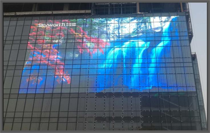 led透明屏多少钱一个平方