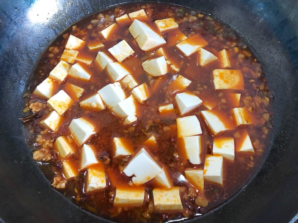 家常麻婆豆腐的做法,简单好上手,新手也能操作,香辣下饭 美食做法 第11张