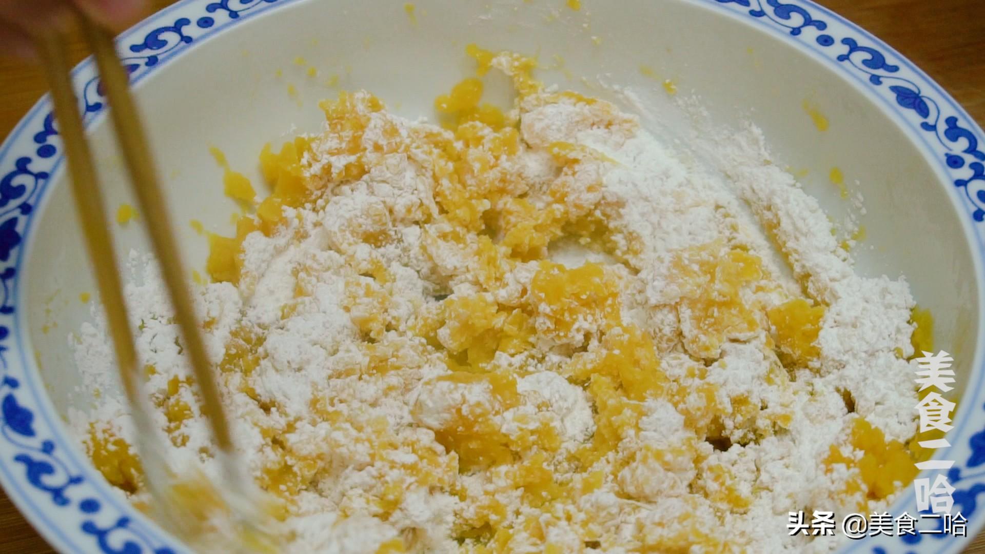 红薯花样吃法,蒸煮炸炖都不如这样煎着吃,夹心流糖怎么都吃不够