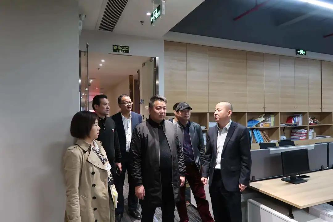 「天明动态」陕西省商会一行到广东南天明律师事务所调研指导工作