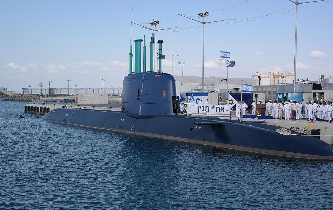 史无前例的信号!以色列潜艇首次向波斯湾挺进 随时可发射核弹