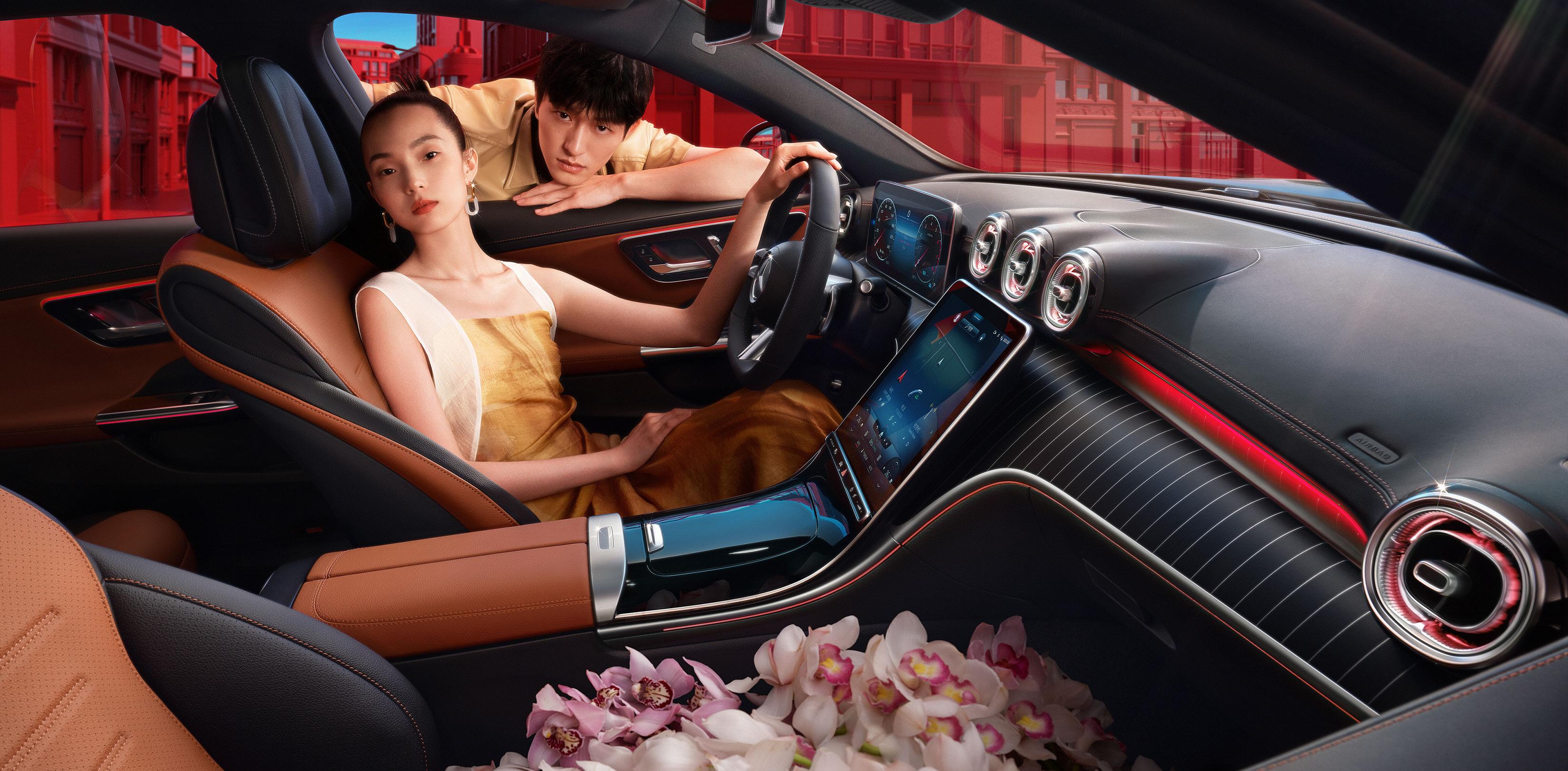 首发车型较为简单,全新一代奔驰C级上市售32.52~36.92万元