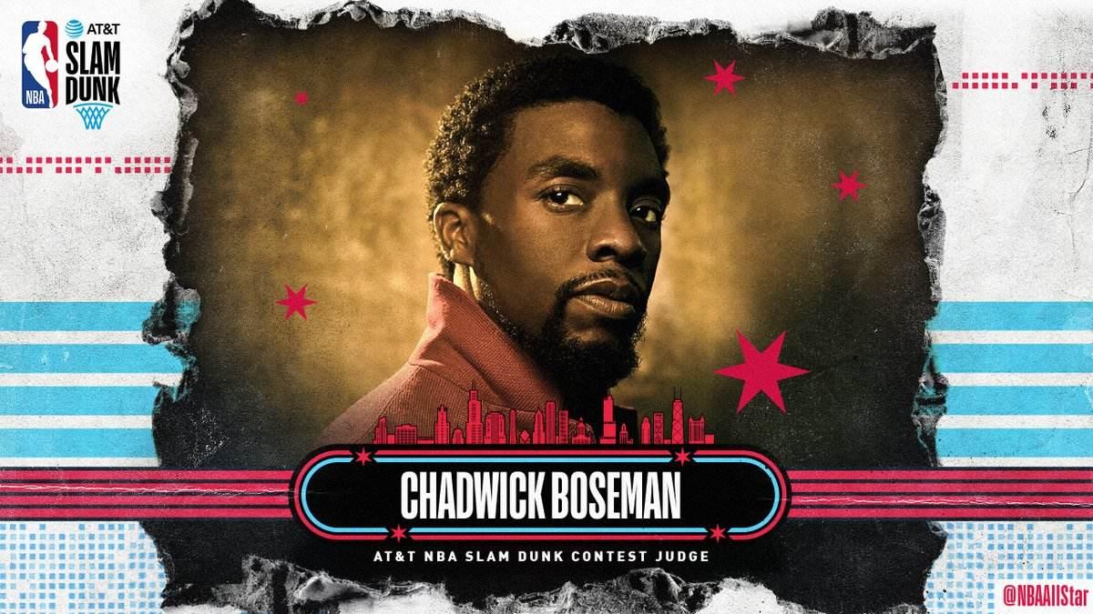 《黑豹》男主博斯曼不幸离世,曾多次与NBA扣篮大赛结缘