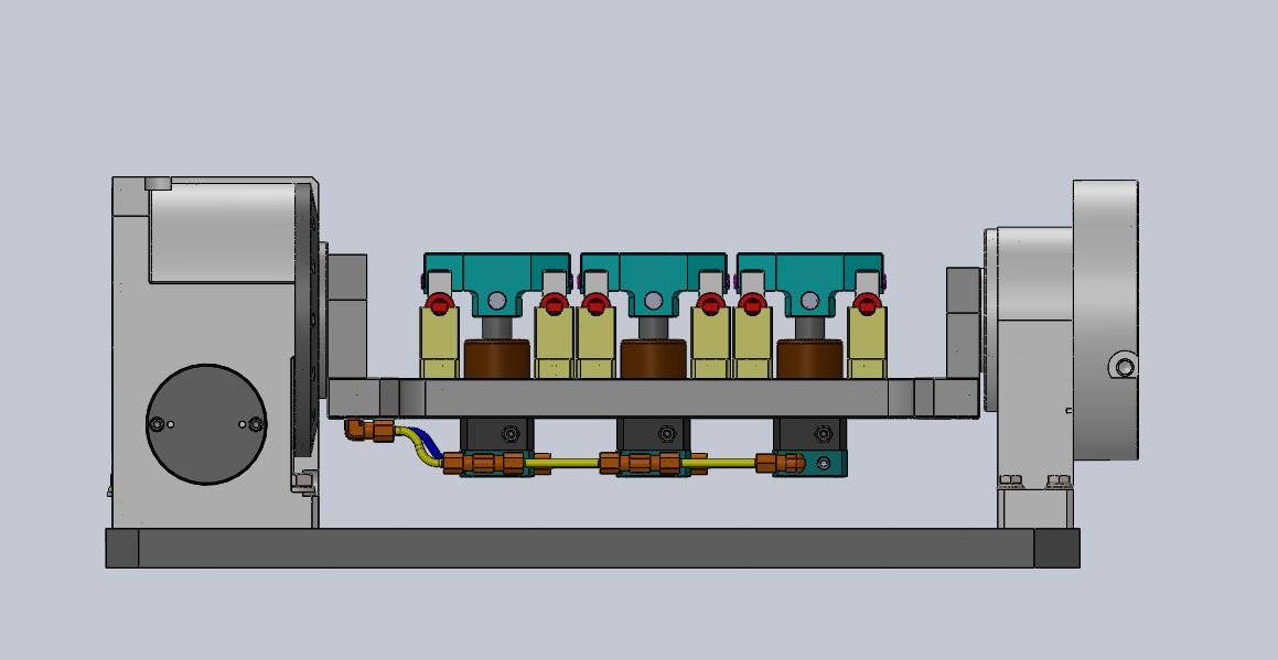加工中心旋转分度装置3D图纸 x_t格式