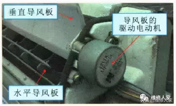 挂式空调室内机的内部组成及拆卸方法图解