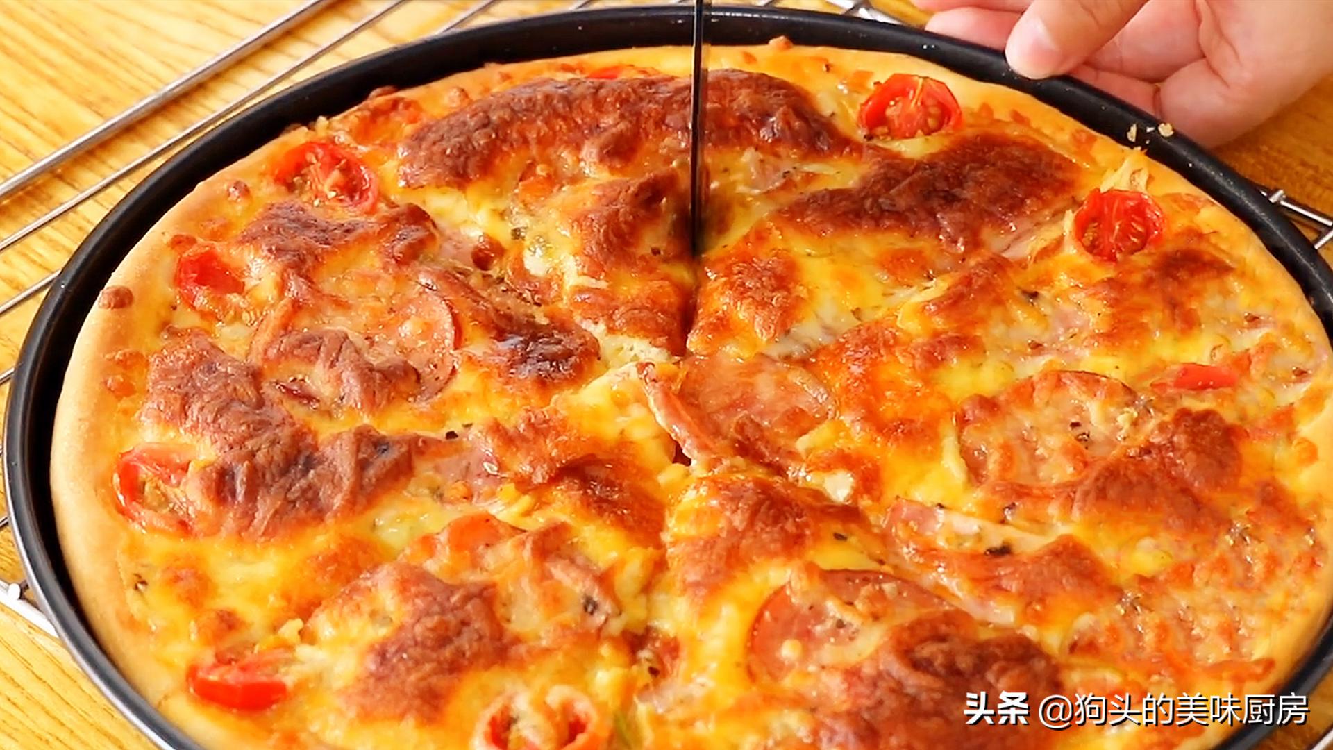 手把手教你在家做披萨,简单易学,绵软可口还拉丝,比买的还好吃 美食做法 第21张