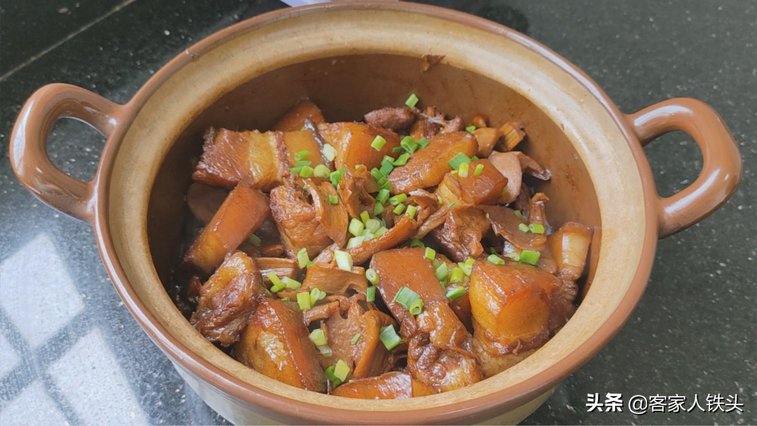 客家人过节少不了的一锅肉,教你正宗传统的做法,好吃不腻味道香