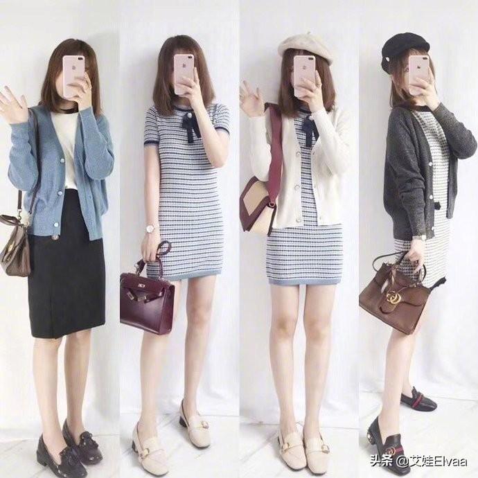 秋日get一衣多穿技能,不用再满商场买衣服,时髦减龄有女人味