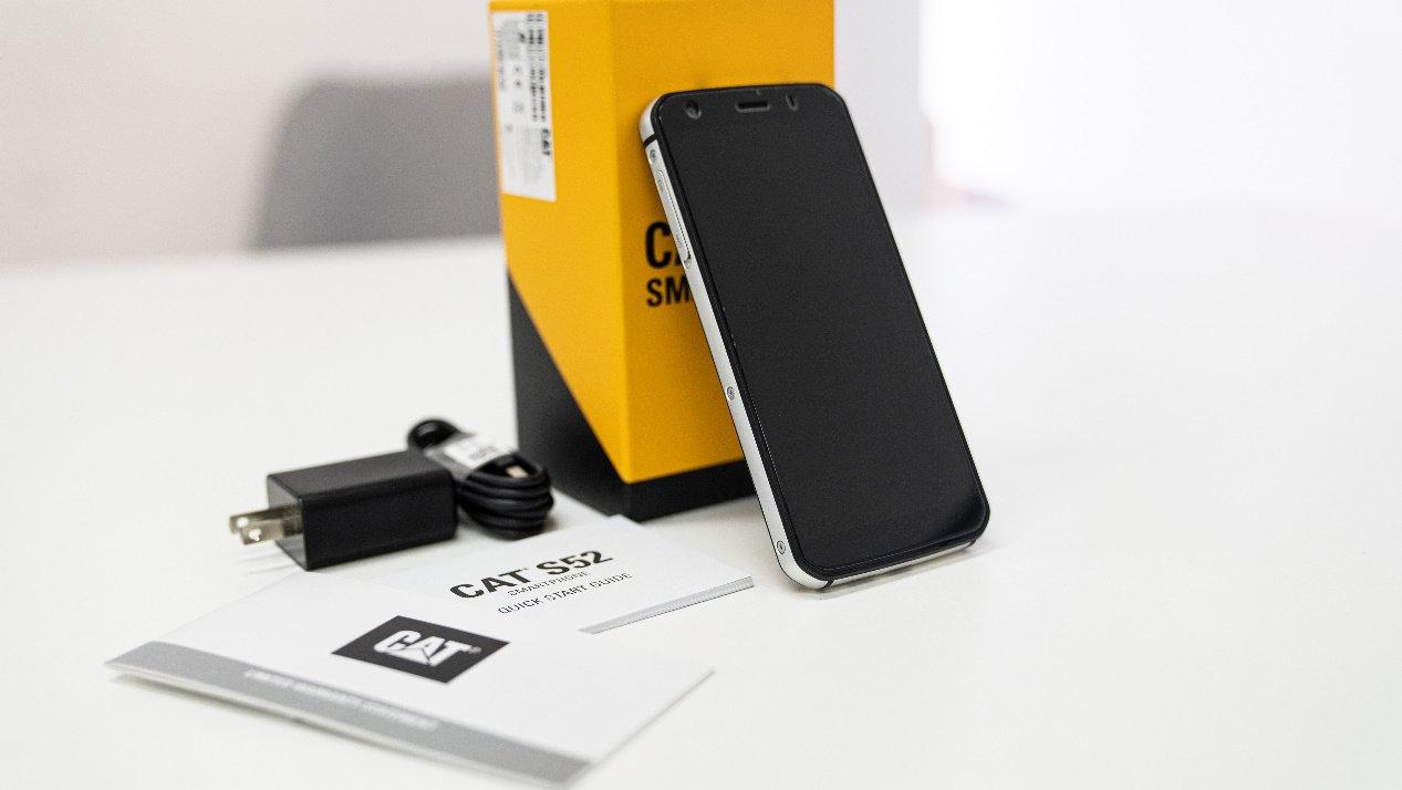 硬派军规三防,CAT卡特S52超薄三防手机开箱评测