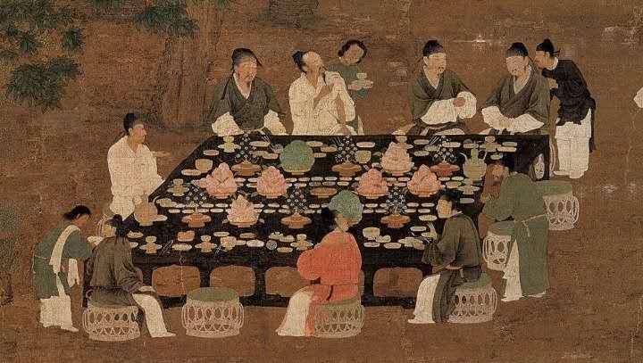 按《周礼》中国古人吃饭是分餐的,为什么后来变成合餐了呢?