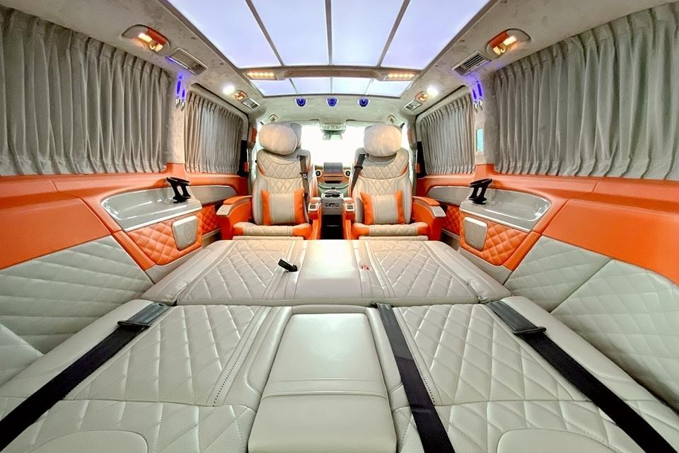 奔驰迈巴赫VS680爱马仕橙,浪漫活力元素,引领驰骋畅快出行