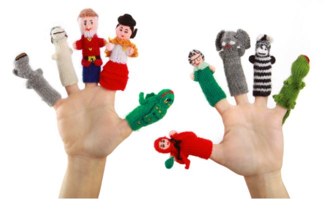 引领右脑教你几个好玩的手指游戏