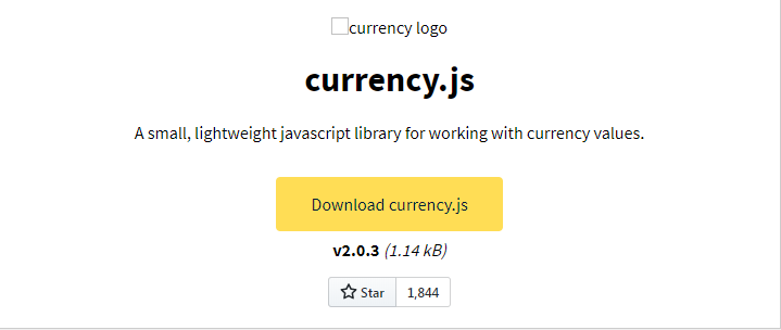 JavaScript专业级处理货币类库Currency.js
