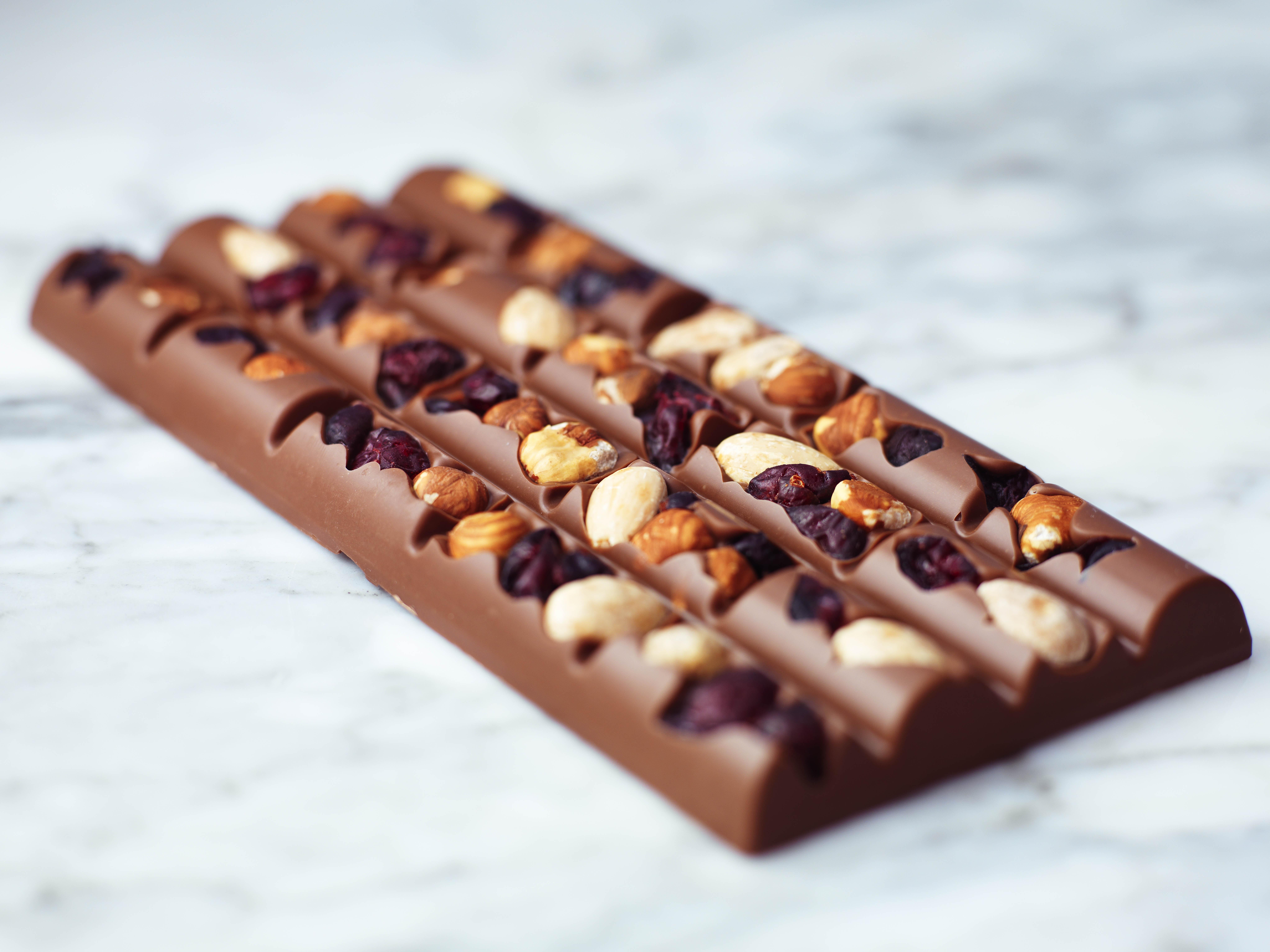 吃了半辈子巧克力,原来上面的凹槽大有用处,一直以来误会了