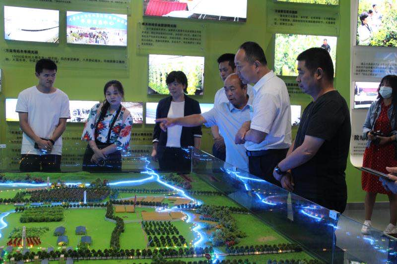 陕西省文化和旅游厅初审验收大荔县国家全域旅游示范区创建工作