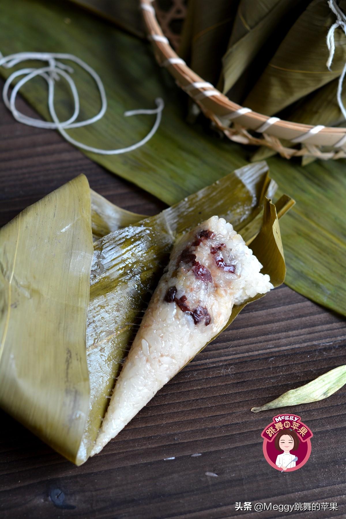 端午节吃粽子,教你3种甜粽子 美食做法 第2张