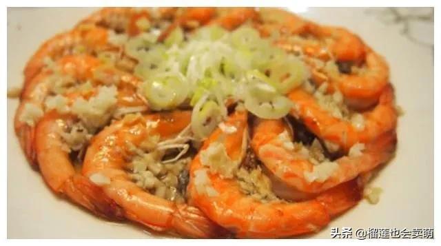 美食:香辣蒜香虾,肉末香菇炒韭菜,糖醋排骨,辣尖椒炒牛肉片 美食做法 第1张