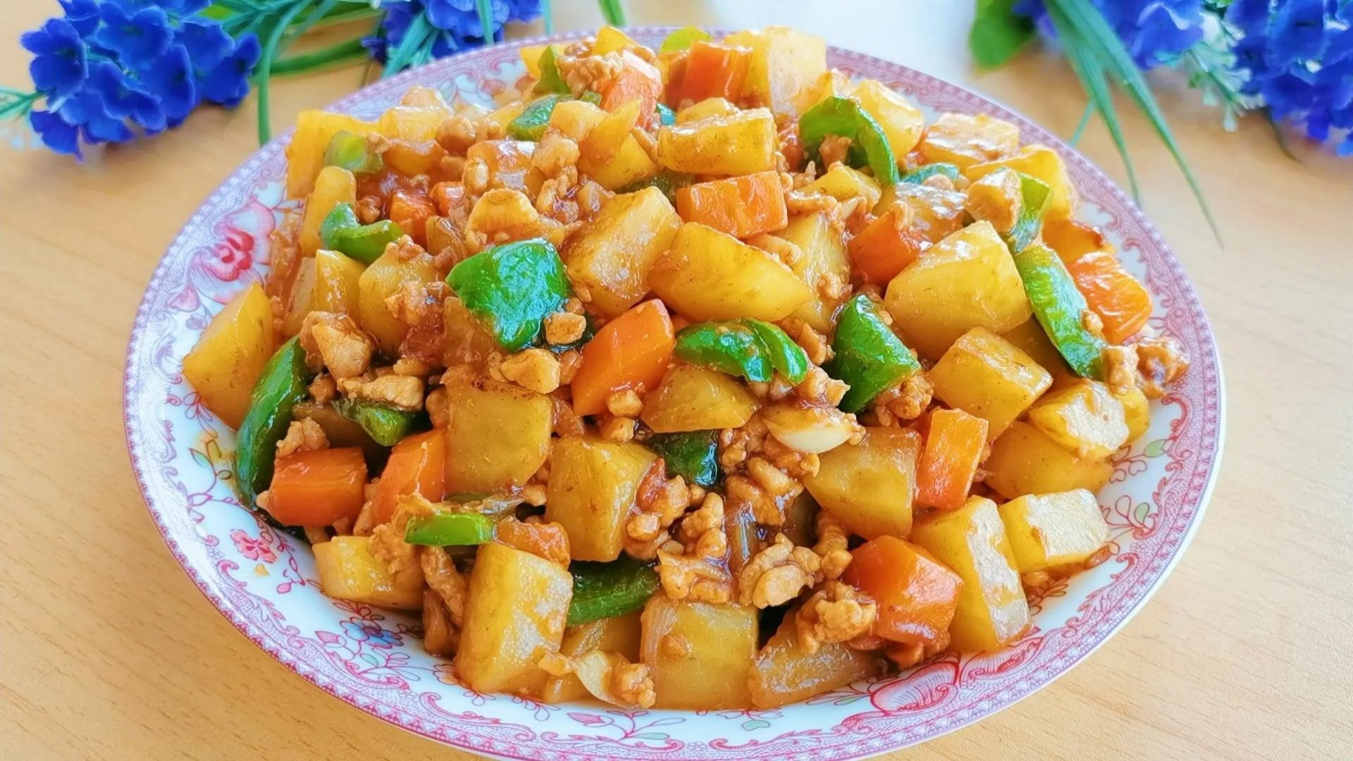 土豆的神仙吃法,连孩子都能多吃半碗饭,制作简单,好吃又营养 美食做法 第13张