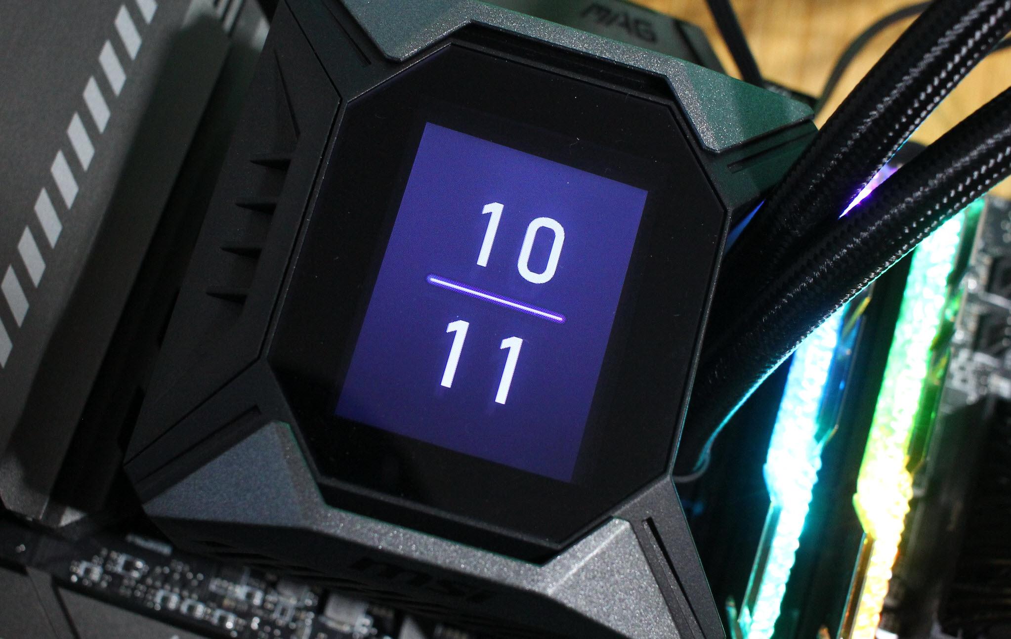 能过73℃算我输!这就是微星MPG coreliquid k360水冷散热器