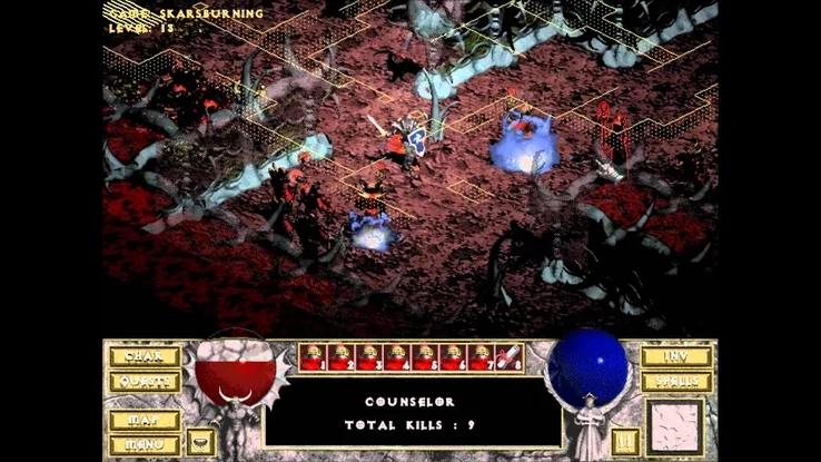 我的游戏半年总结:暗黑破坏神起源到经久不衰,影响历代网游发展