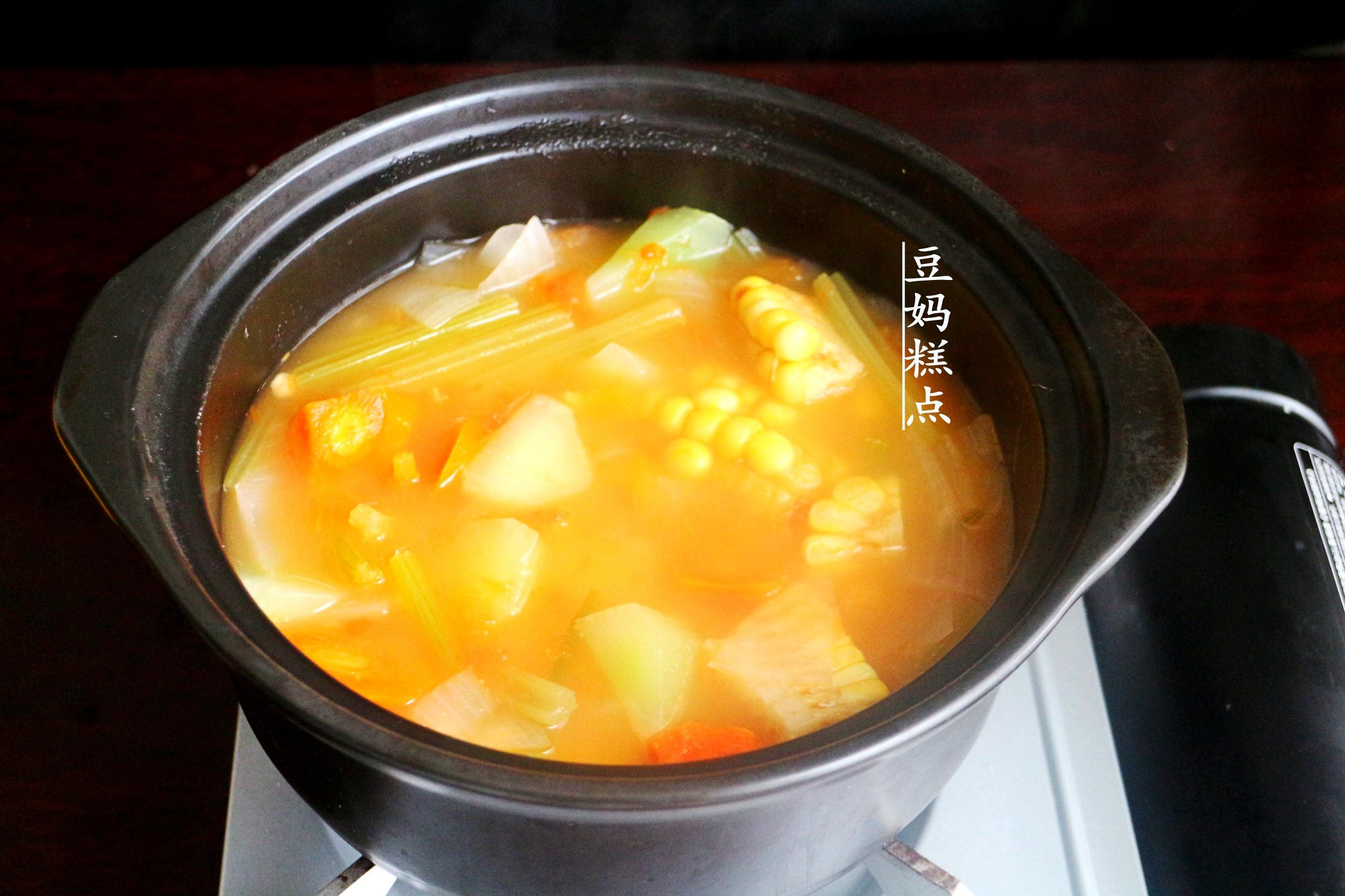 学做瘦身蔬菜汤,健康瘦身,营养不缺 减肥菜谱 第7张