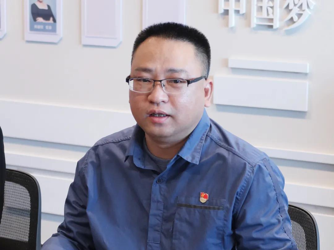 「天明动态」灯湖社区党委书记莅临南天明座谈交流