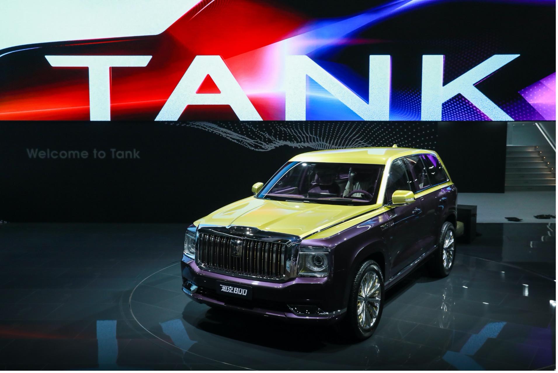 坦克300一炮打响,长城汽车顺势推出独立品牌,城市SUV同时发布