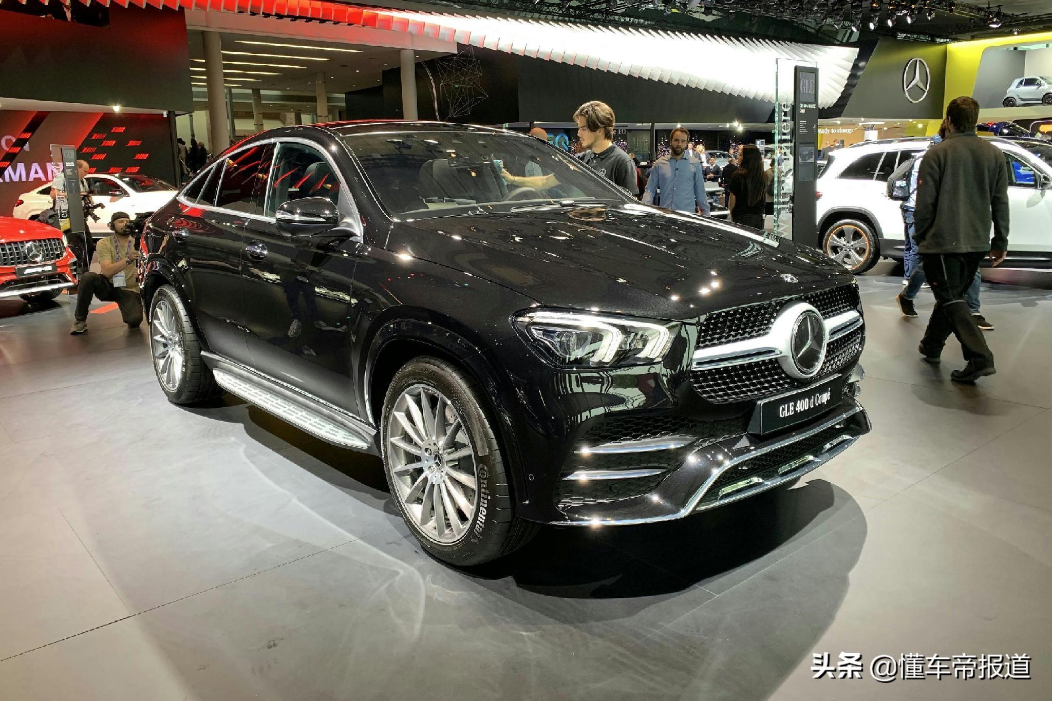 曝光 | 新一代奔驰GLE轿跑SUV将于9月11日上市