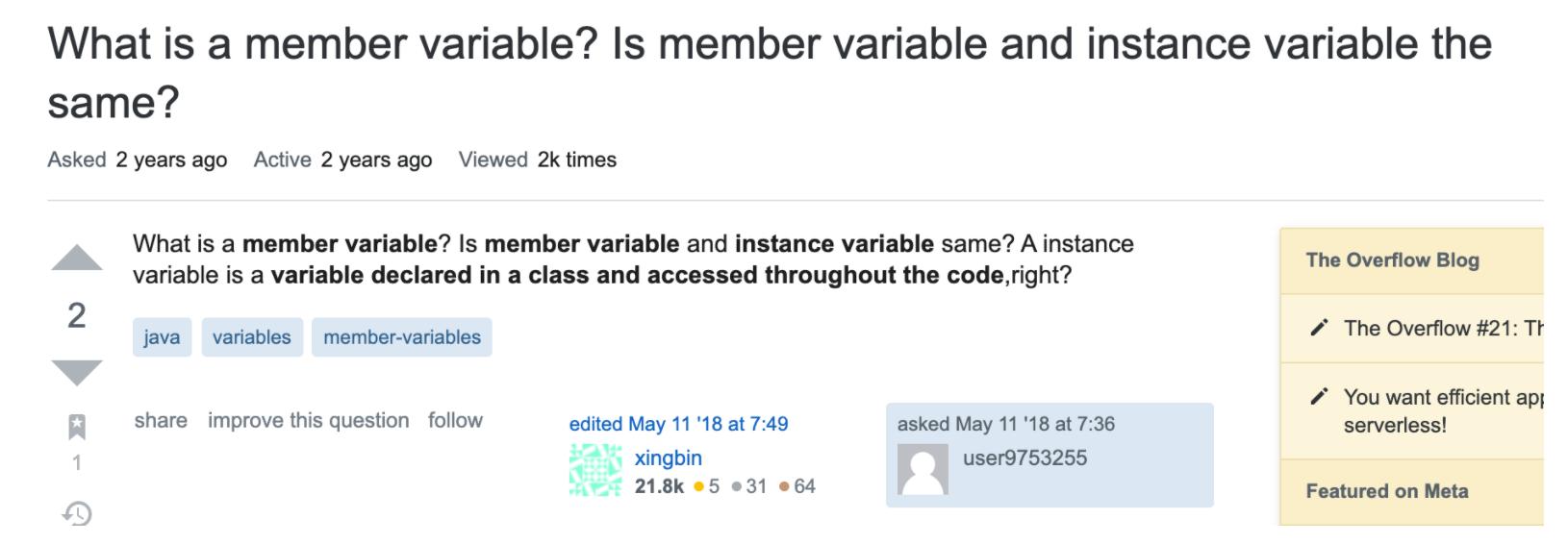 都说变量有七八种,到底谁是 Java 的亲儿子