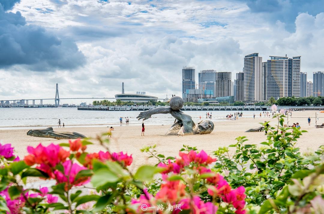 國慶假期到廣東湛江去看海,每個隱祕的角落都很美,關鍵是人少