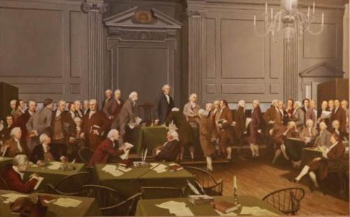 """美国革命的暴力色彩——被革命者迫害的美国""""亲英派"""""""
