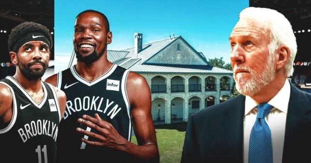 310萬美元!波波維奇出售豪宅引熱議,真要去籃網執教杜蘭特厄文了?