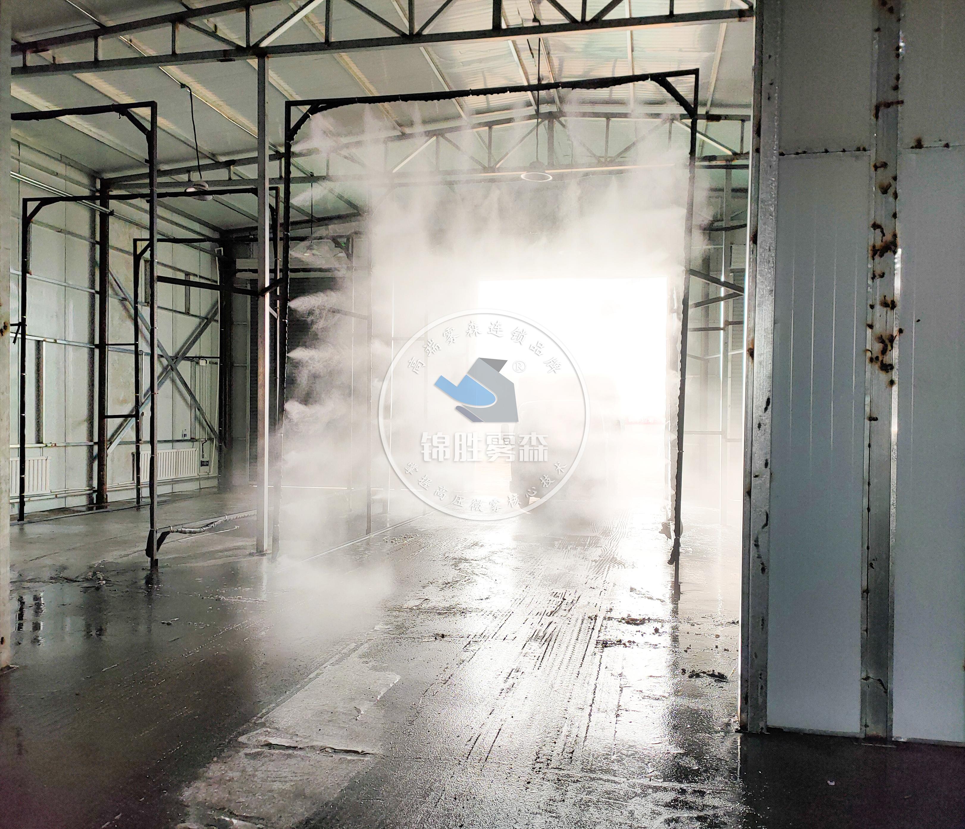 喷雾消毒是怎样做到有效杀菌消毒,改善生态健康的?——锦胜雾森