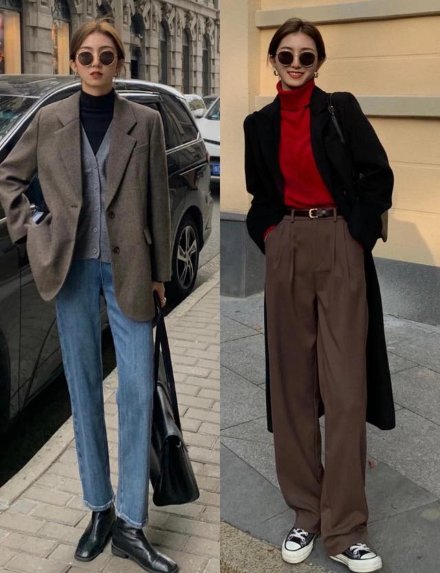 初春的裤子还是韩系最实穿,简约显瘦还百搭,女生照搬就很好看
