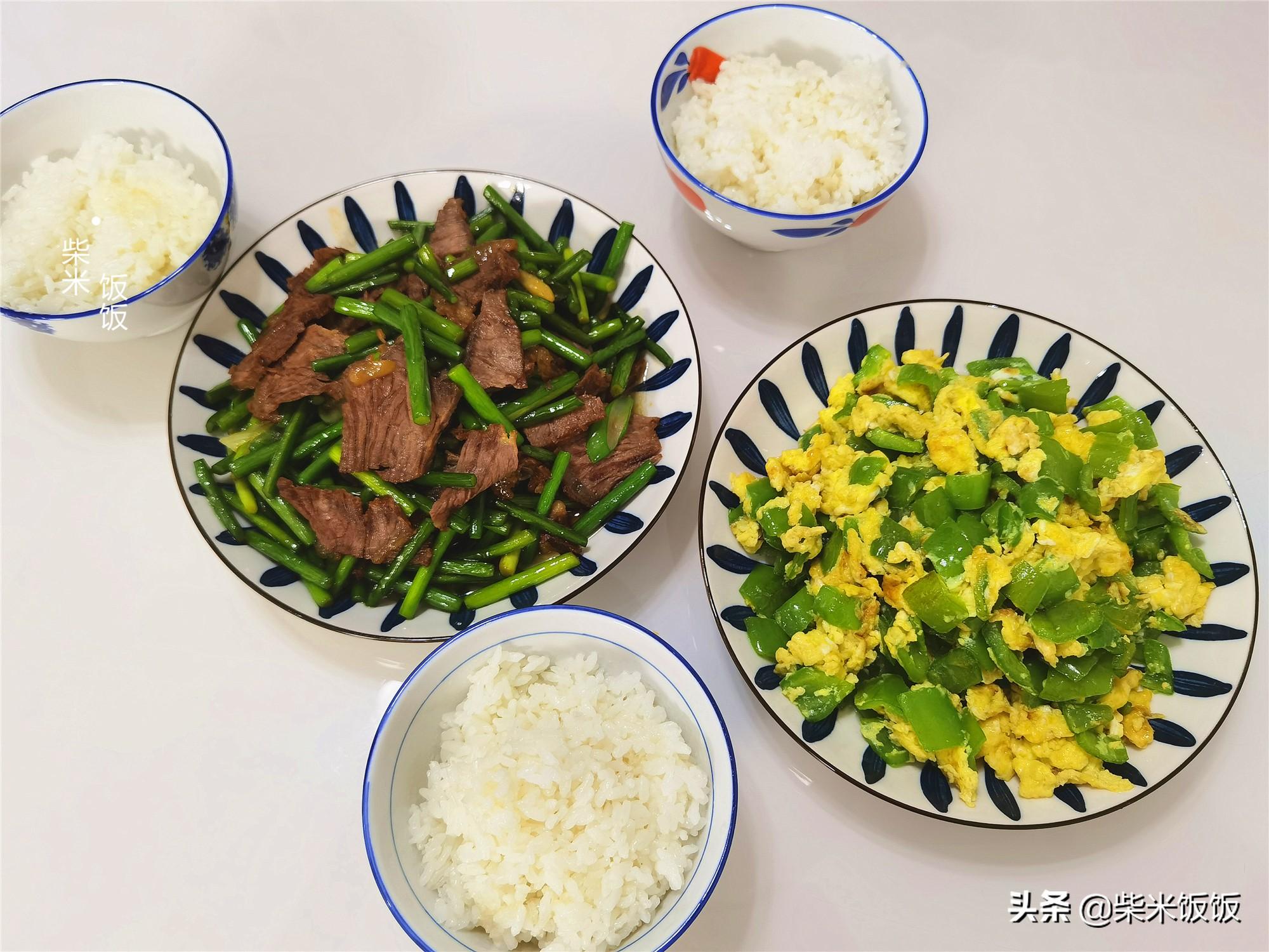 晚餐,全是家常菜,每天花费不到50元,实惠好吃 晚餐 第2张