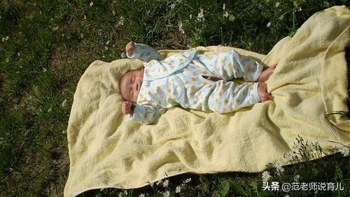 如何给新生儿正确晒太阳