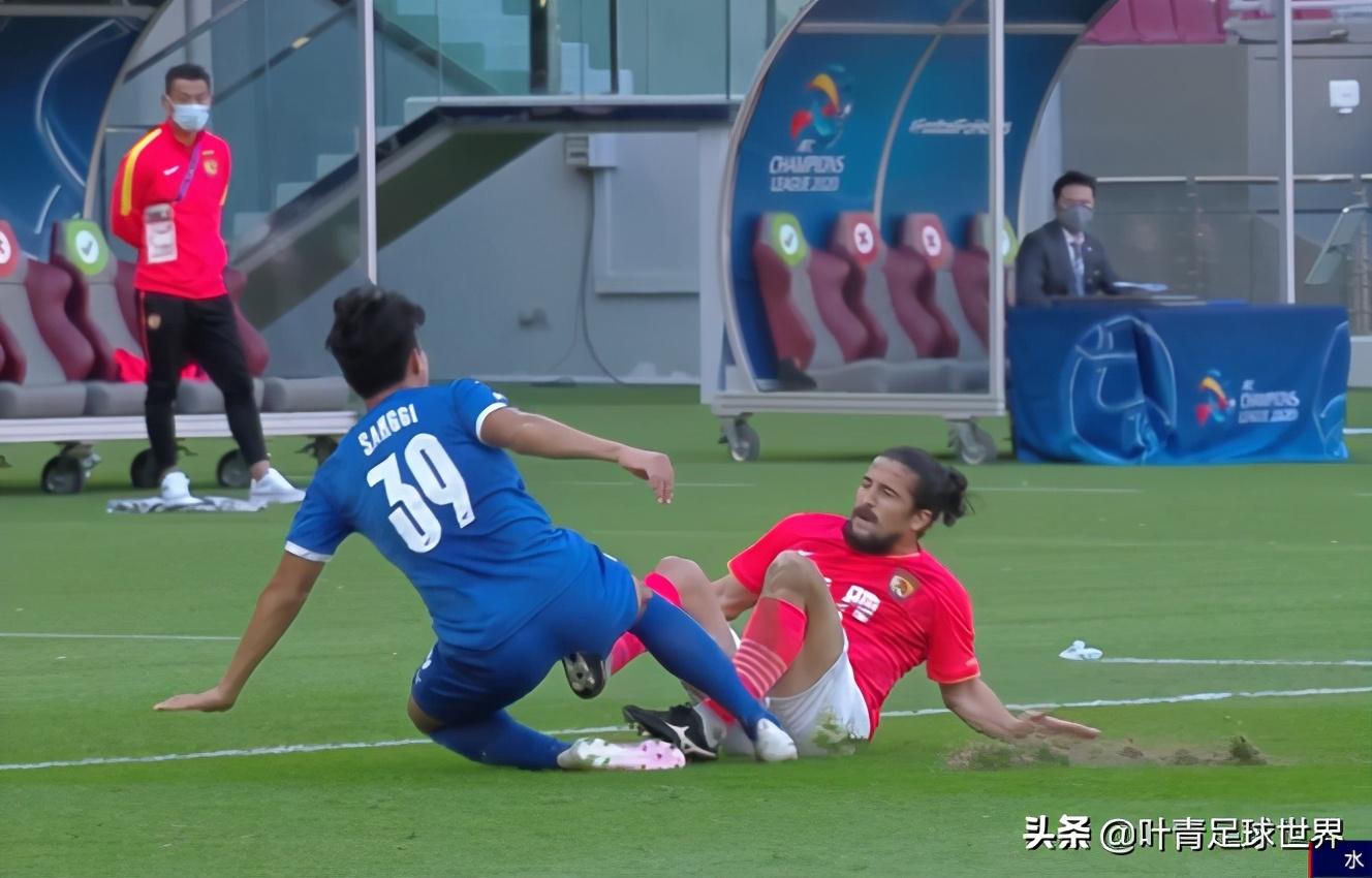 91分钟险遭绝杀,恒大惨烈0-0!仅1次射正,张琳芃血染赛场
