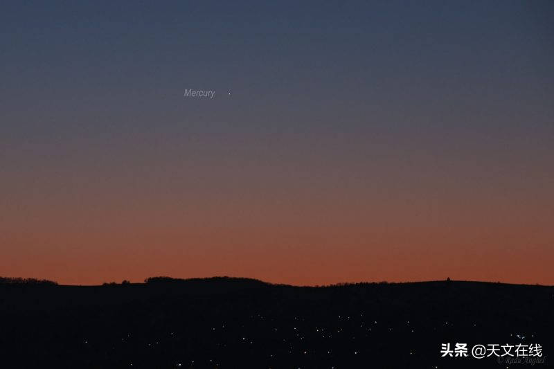 定好闹钟,2月的夜空傍晚是观测水星与金星的最佳时机