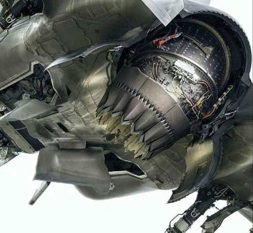 雅克141喷口动态展示,F35B关键技术来自它?我国也曾买过