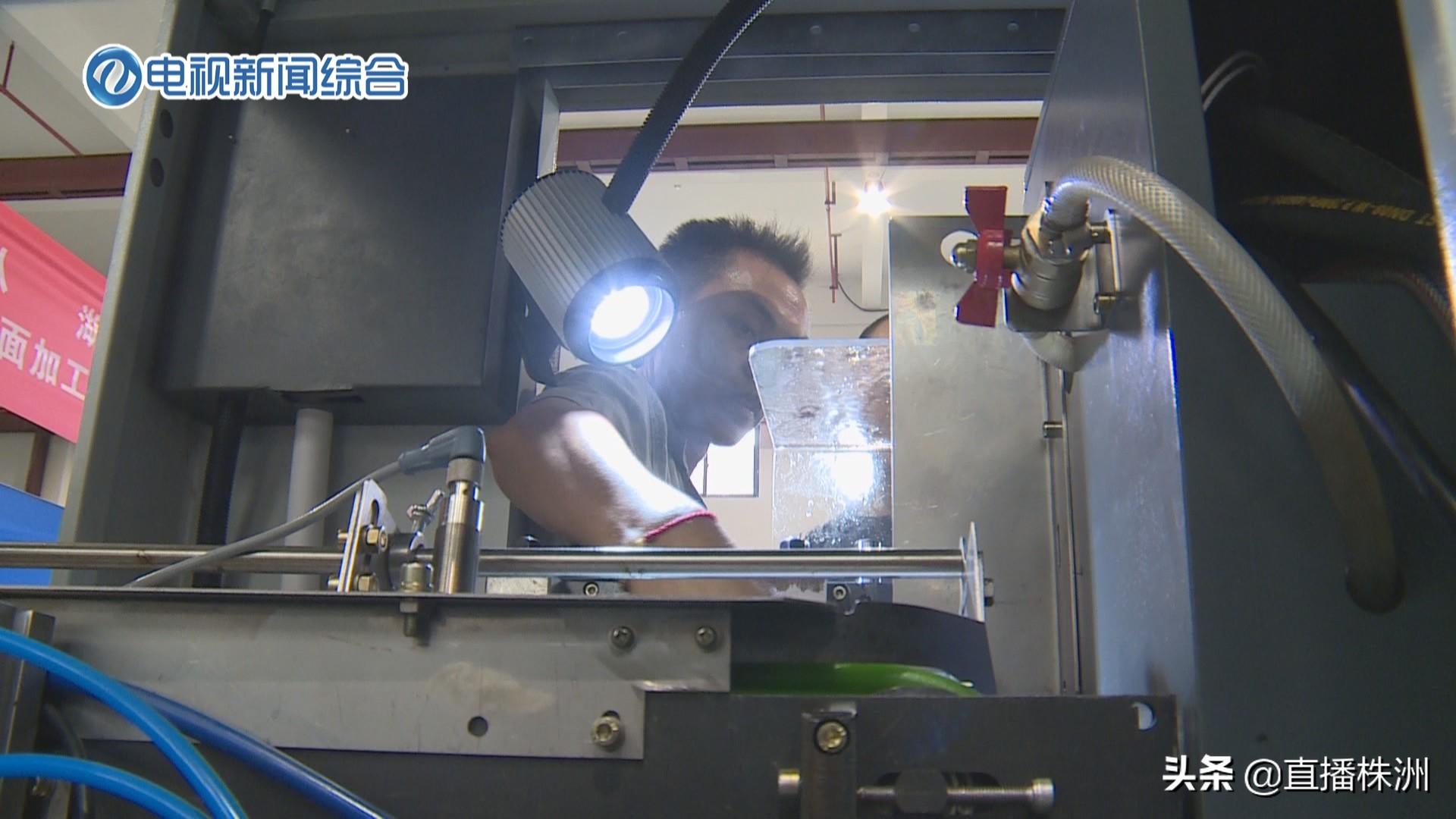 邦人智能与湖南大学合作 创新活塞杆镜面抛光工艺