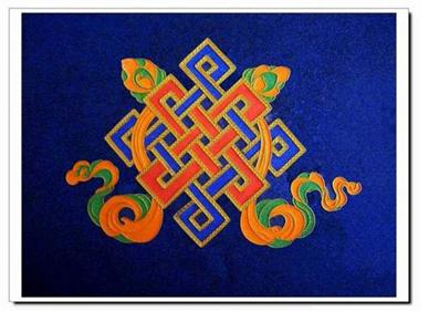 藏传佛教八宝吉祥图