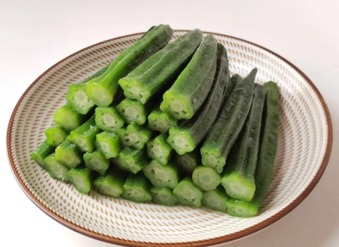 秋天当然要吃凉拌秋葵,好吃又简单 美食做法 第6张